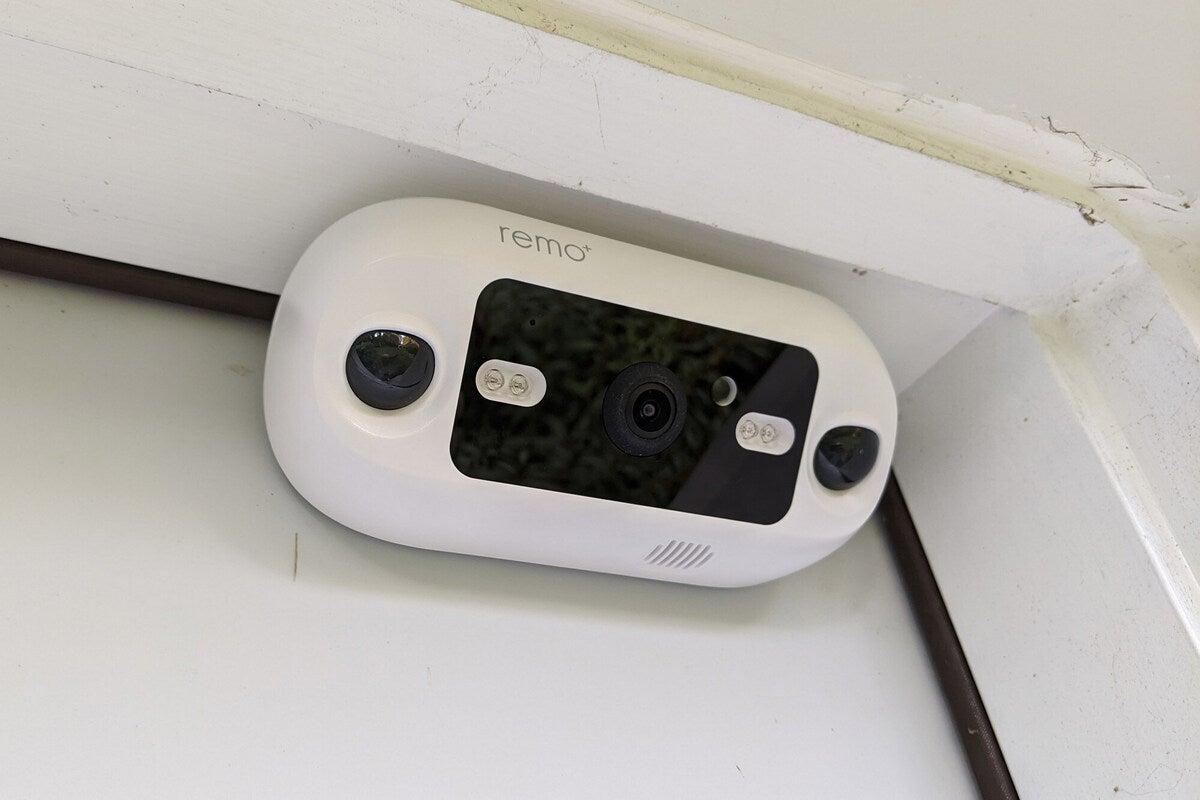 remo doorcam installed