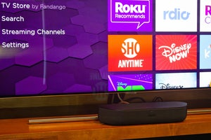 roku streambar user interface