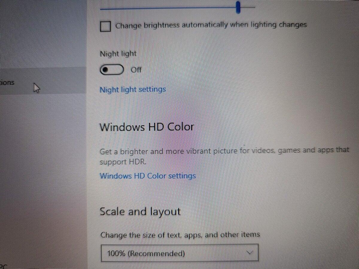 surface laptop go display closeup