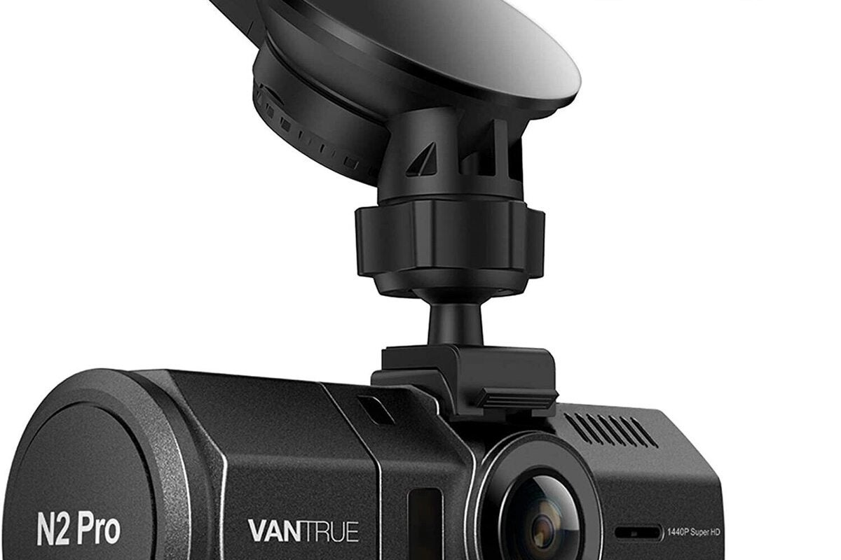 The Vantrue N2 Pro dash cam is back to 0 today, its lowest price