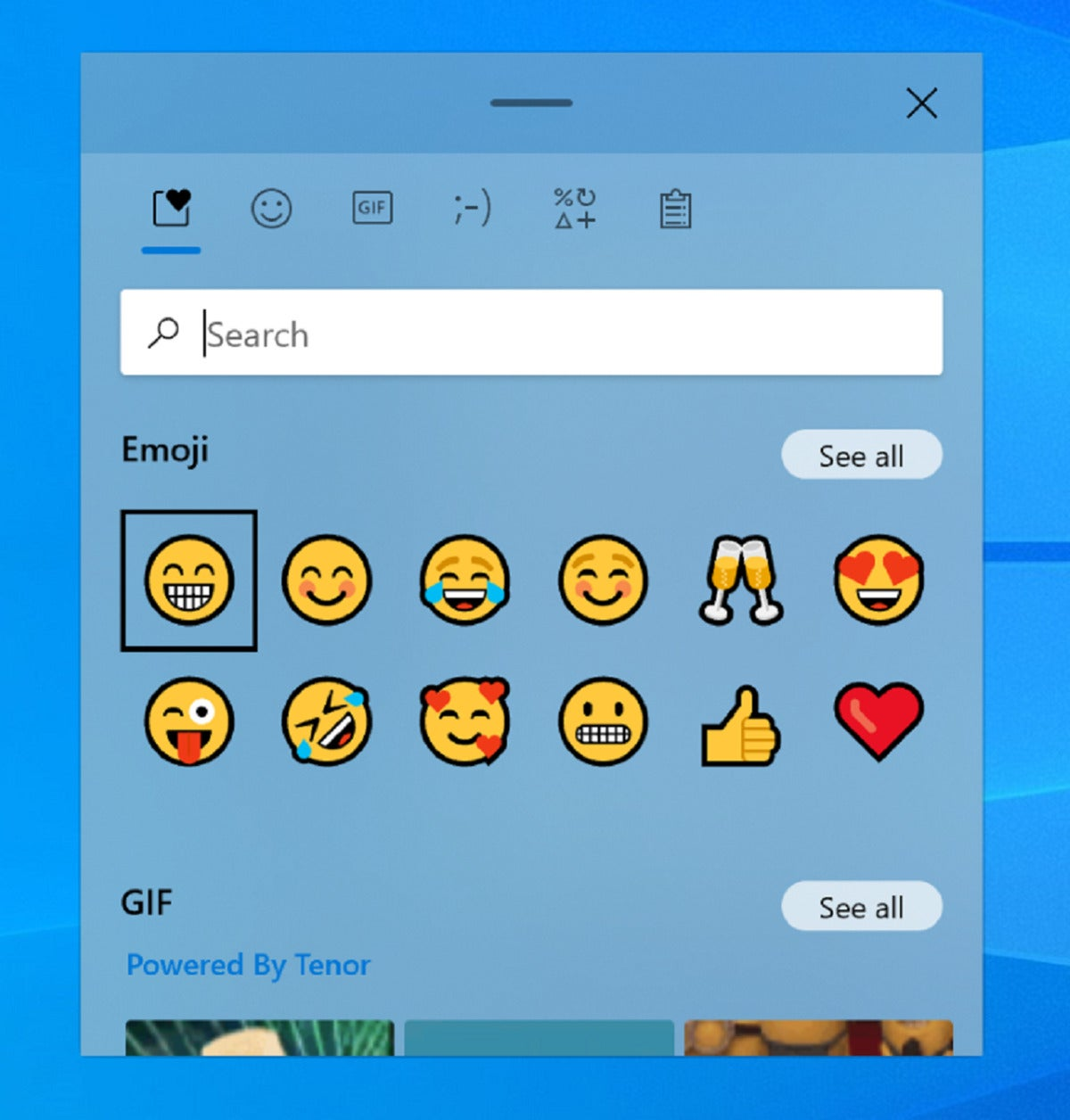 windows 10 emoji picker medium