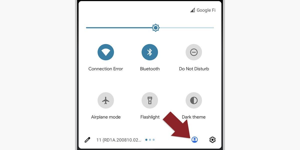 02 android work personal profiles user selector