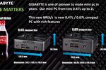Gigabyte Brix mini-PC's met Ryzen bieden 4x 4K