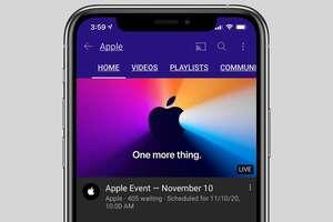 apple event nov10 iphone youtube