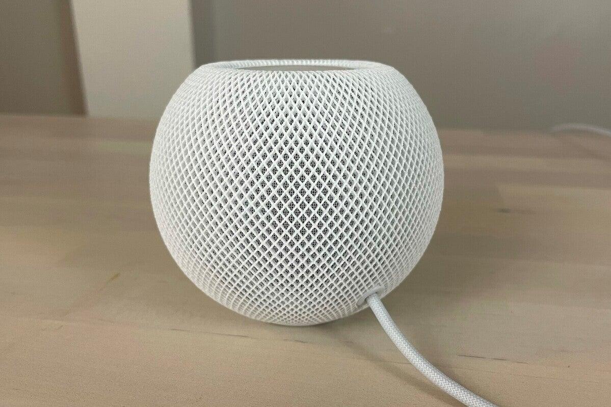 apple homepod mini rear
