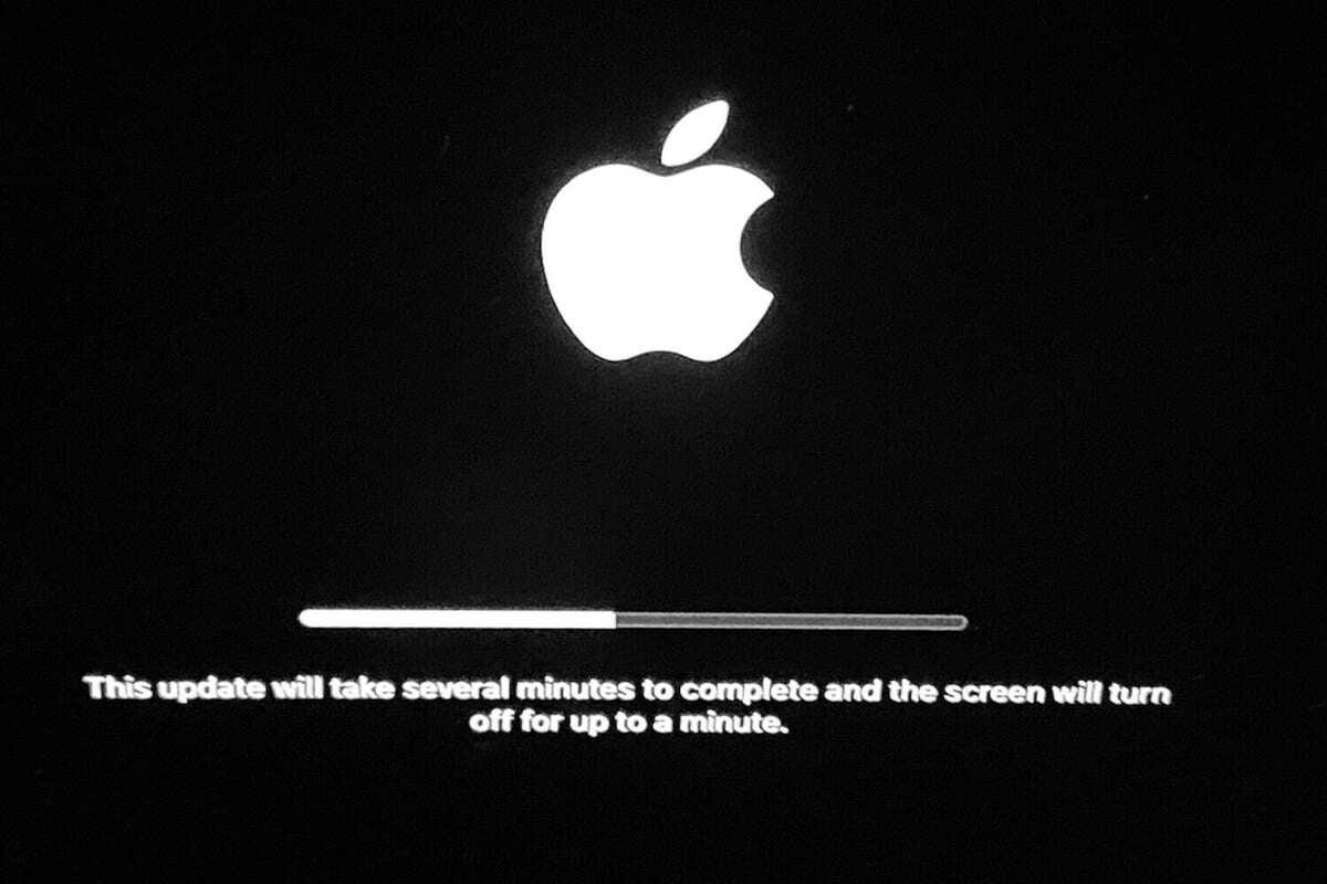 big sur installer usb updating