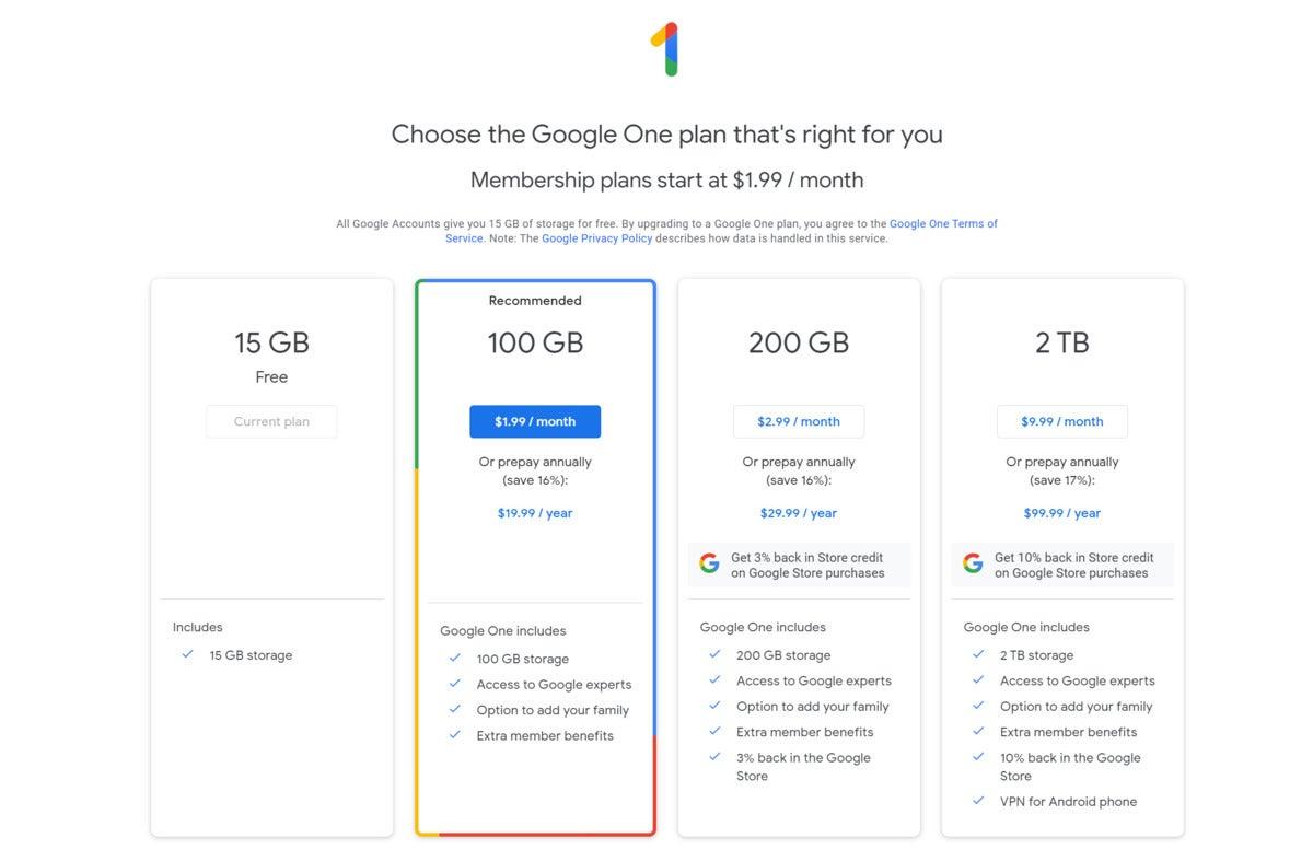google a plan