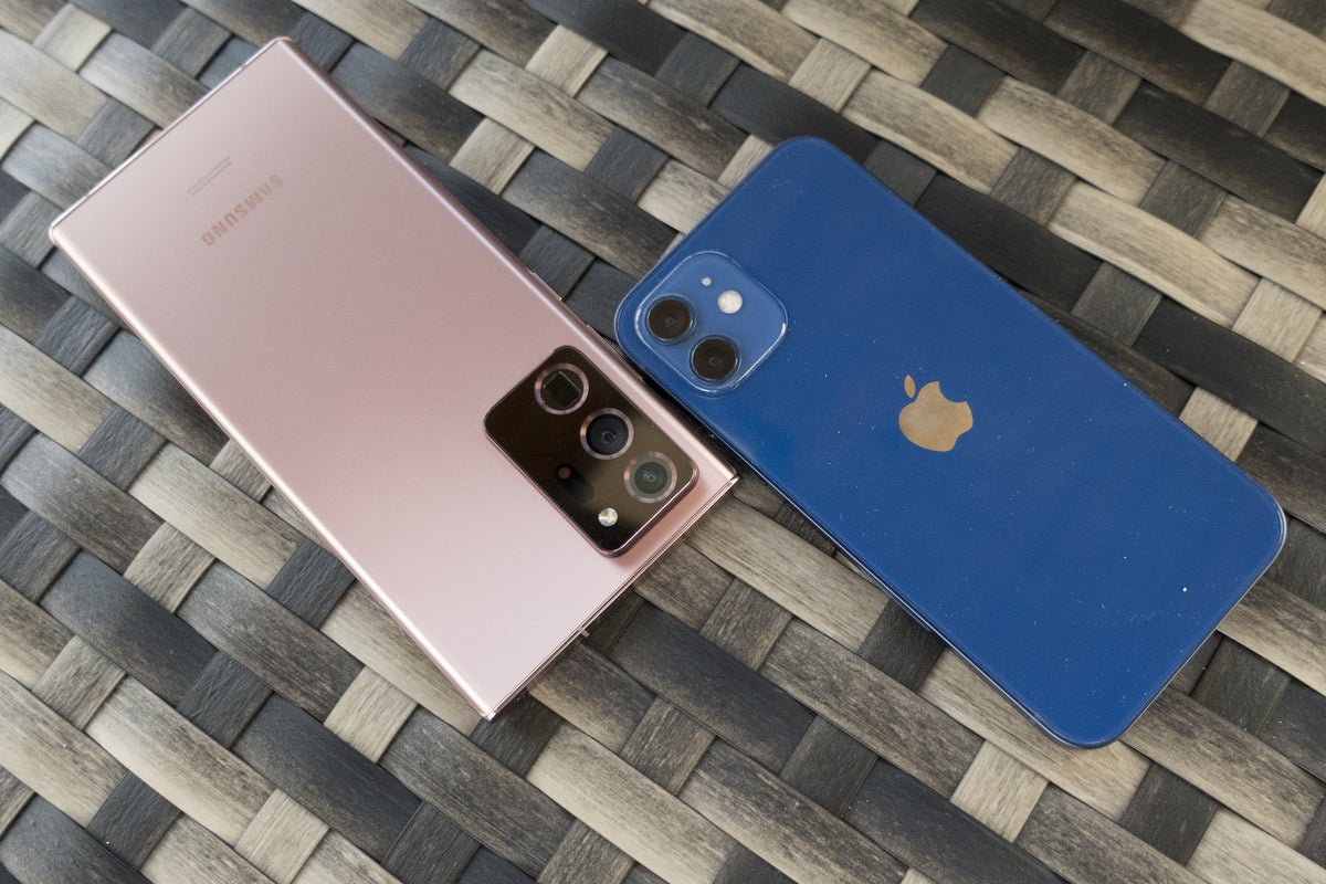 iphone note 20 bronze blue