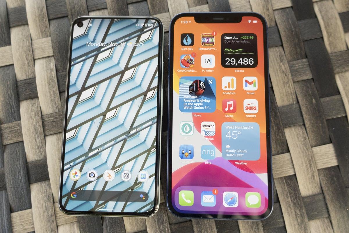 iPhone pixel view