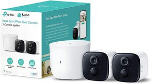 kasa spot home security camera system