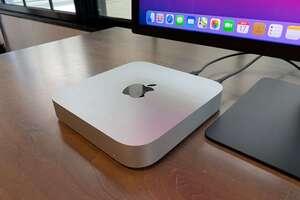 m1 mac mini top angle
