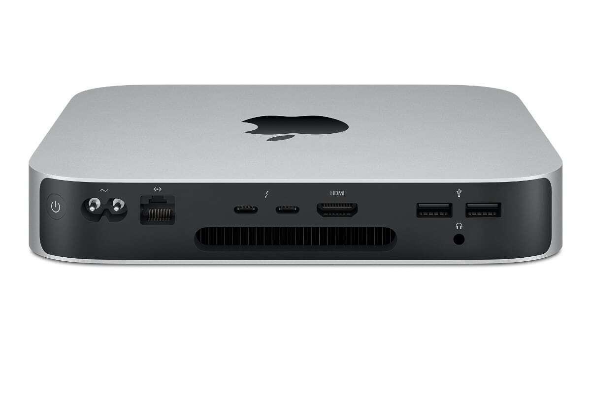 mac mini m1 ports 2020
