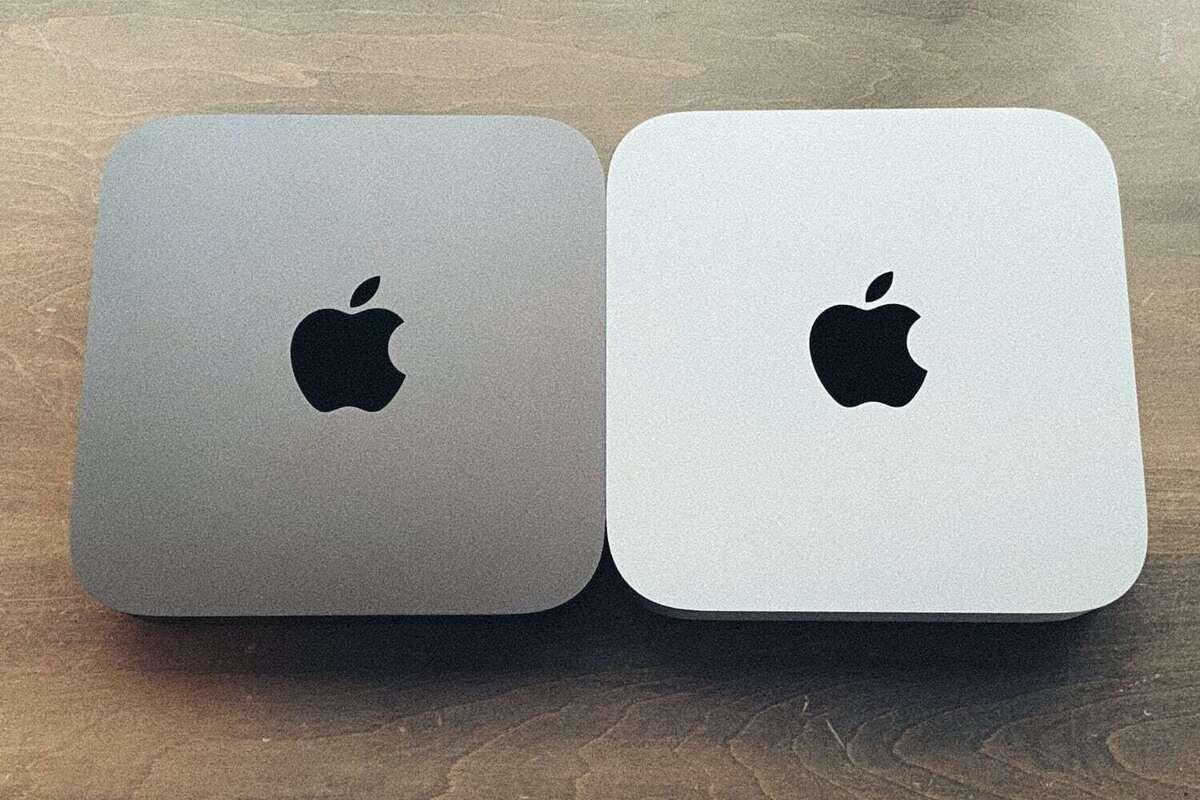 mac mini space gray silver