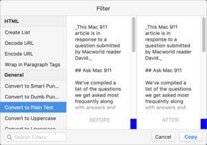 mac911 pastebot filter paste