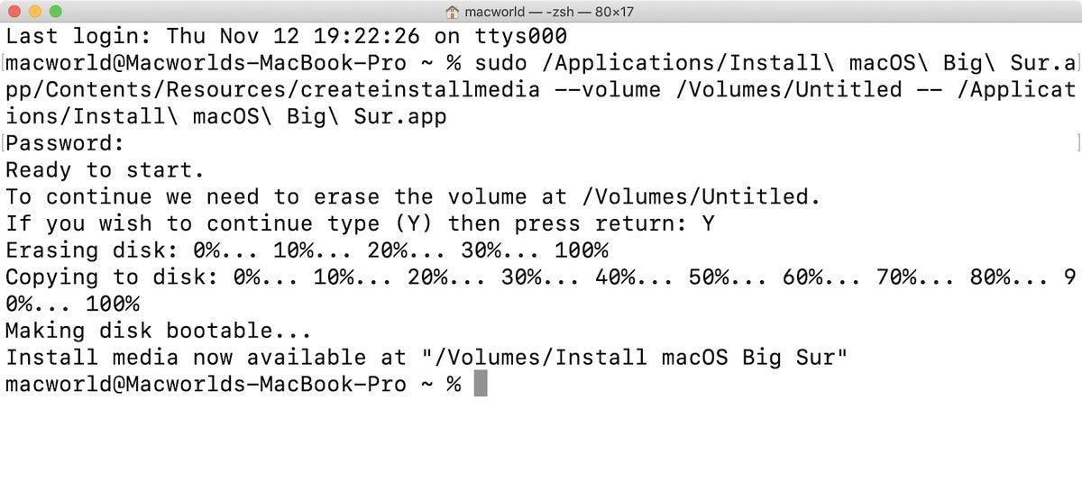 macos bigsur install drive terminal 03