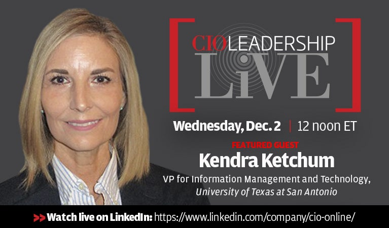 CIO Leadership Live, Dec 2