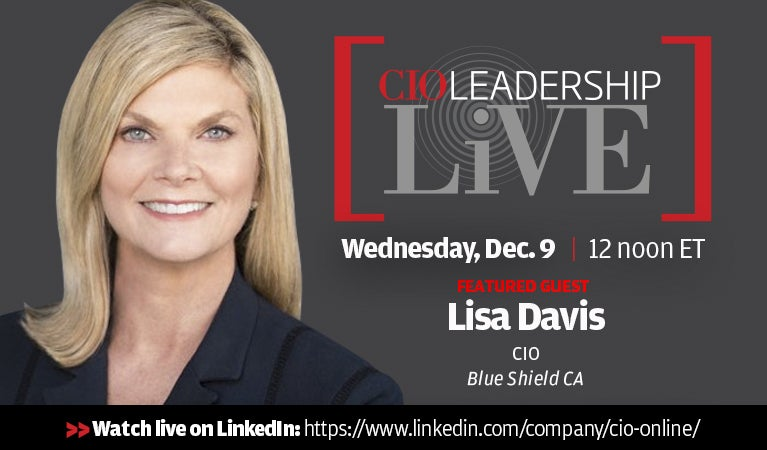 CIO Leadership Live, Dec 9
