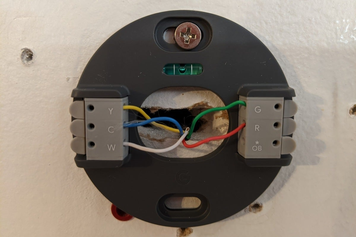 nest thermostat backlate