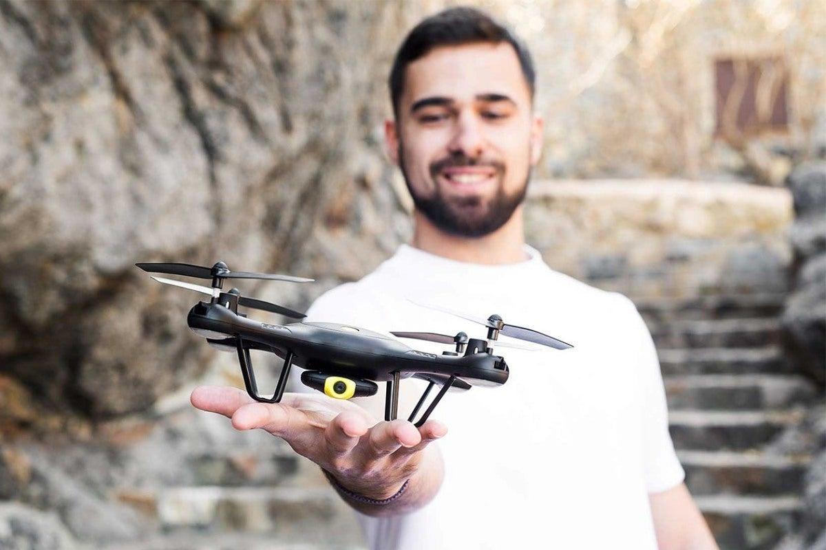 Enjoy Black Friday prices on drones, dash cams, 1080p projectors, & more