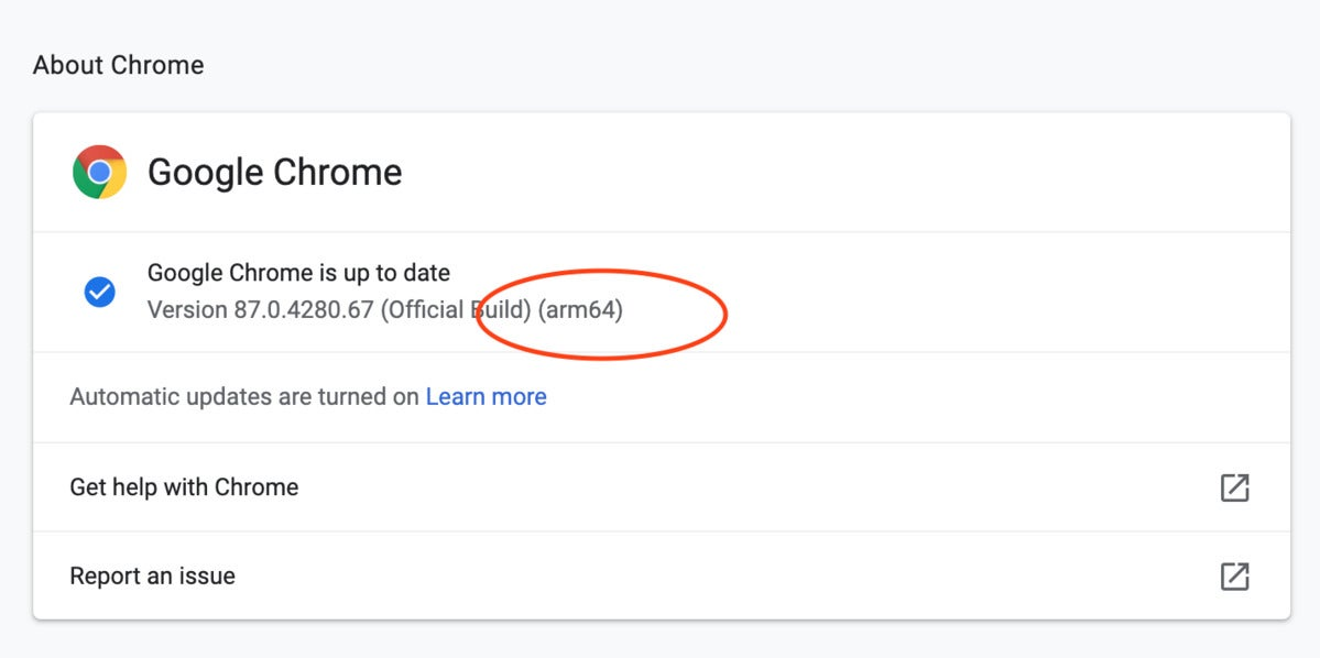 Google M1 build
