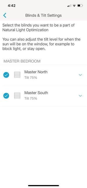 serena app natural light optimization