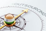 How has coronavirus affected Indian outsourcing?