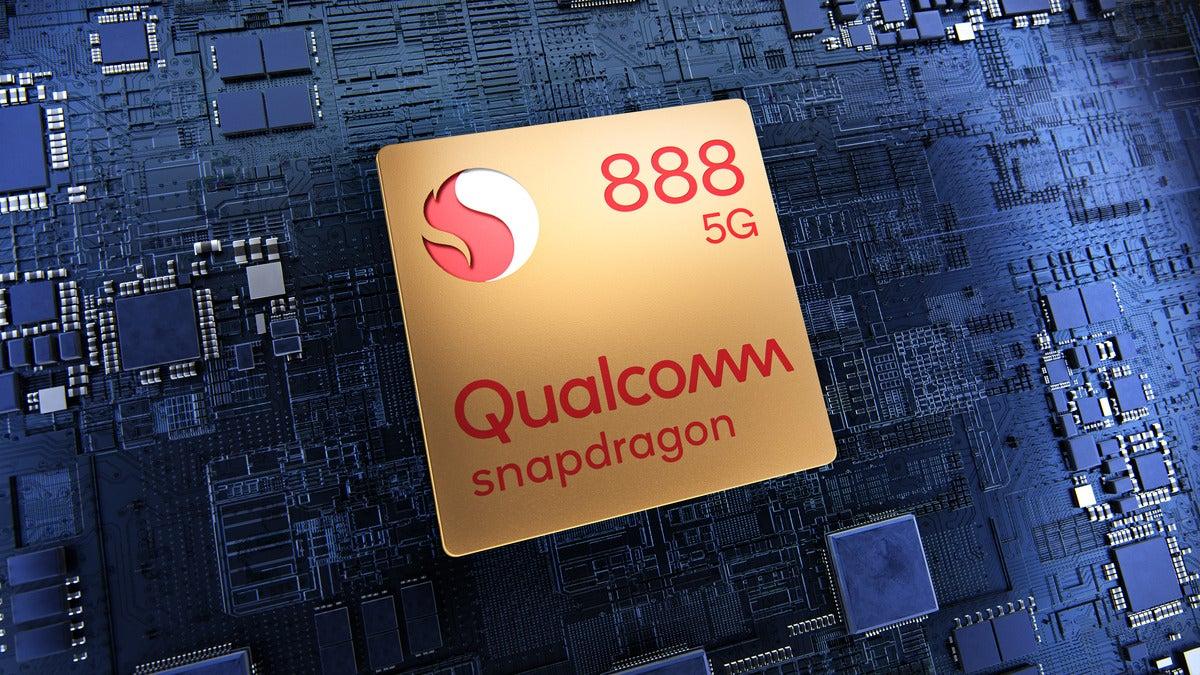 Qualcomm Snapdragon 888 mockup