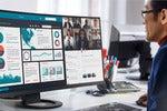 Eerste curved monitor van Eizo meet 37,5 inch: FlexScan EV3895