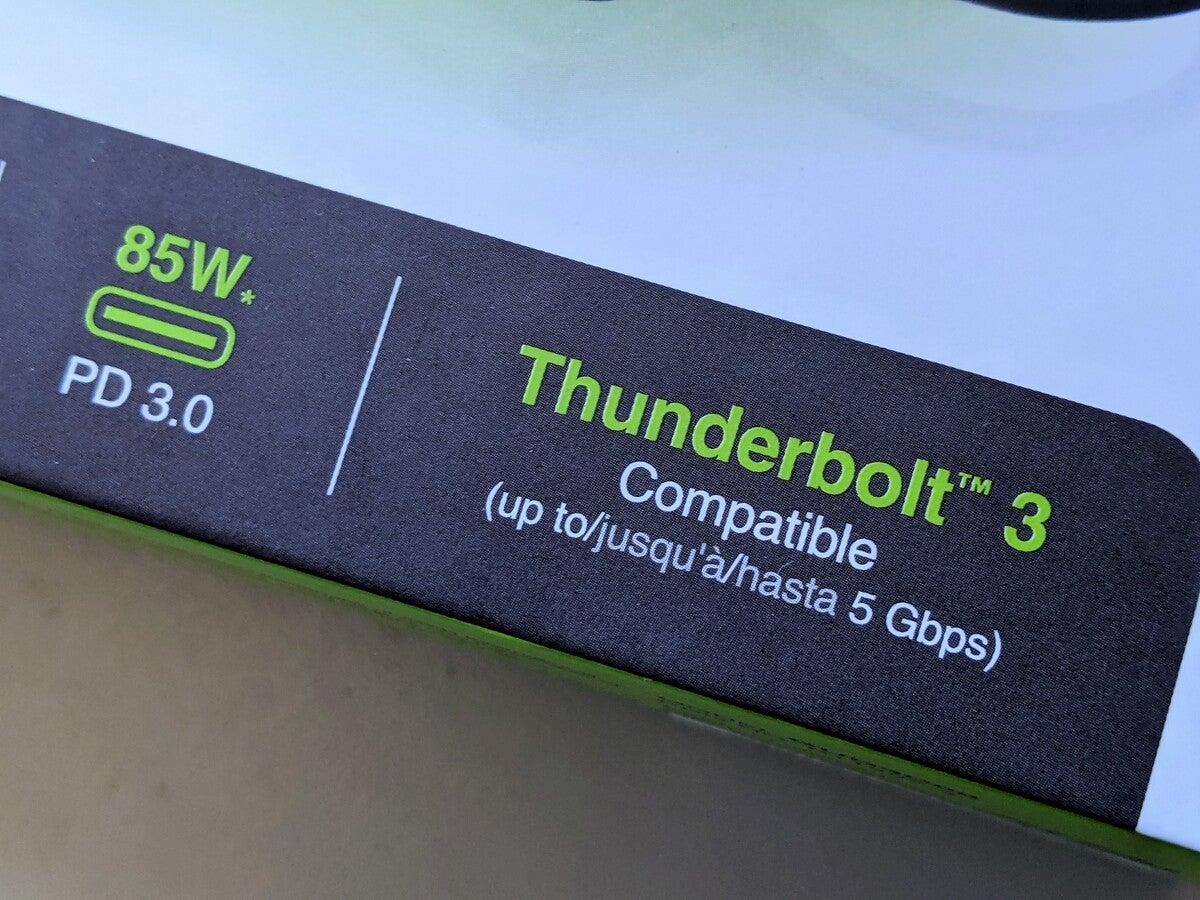 thunderbolt 3 compatible dock
