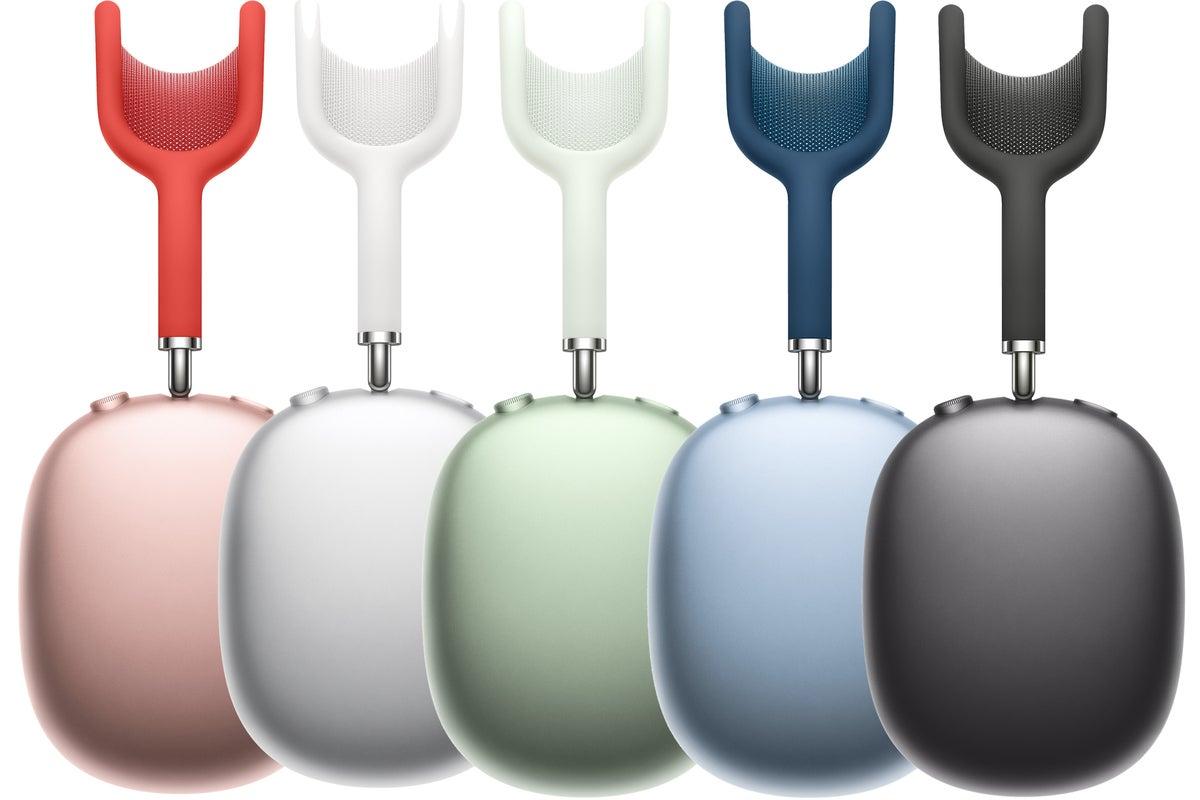 airpods حداکثر  رنگها