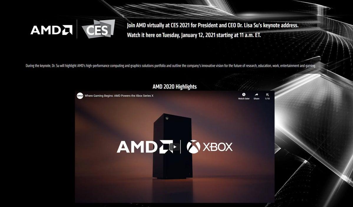 یادداشت اصلی AMD
