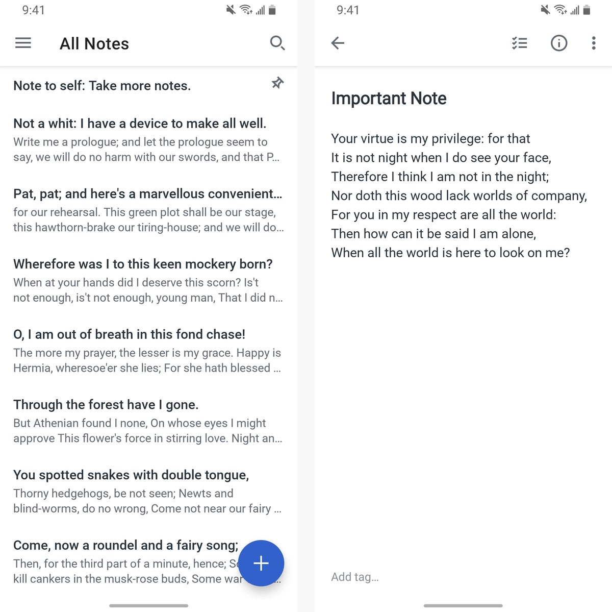 android note taking apps simplenote