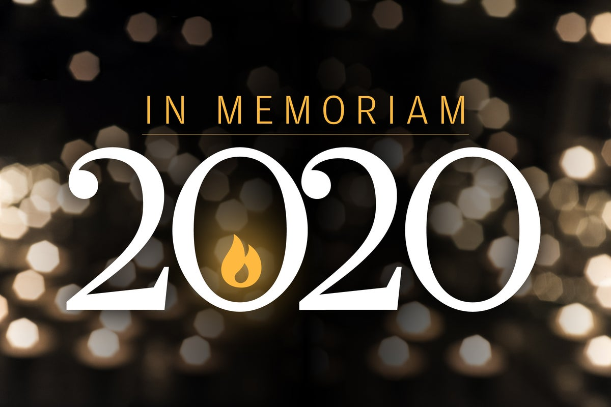 CW > In Memoriam 2020 > Luminaries we lost this year