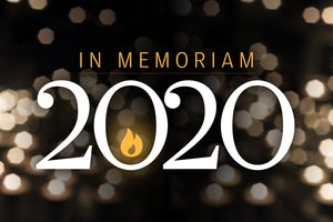 CW  >  In Memoriam 2020  >  Luminaries we lost this year