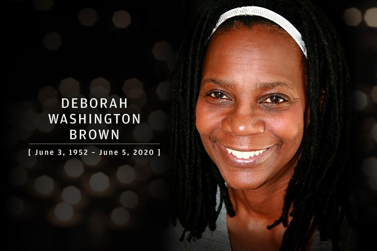 CW  >  In Memoriam 2020  >  Deborah Brown (June 3, 1952 – June 5, 2020)