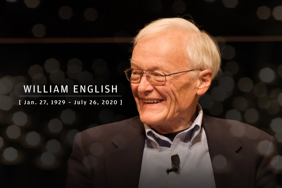 CW  >  In Memoriam 2020  >  William English (Jan. 27, 1929 – July 26, 2020)