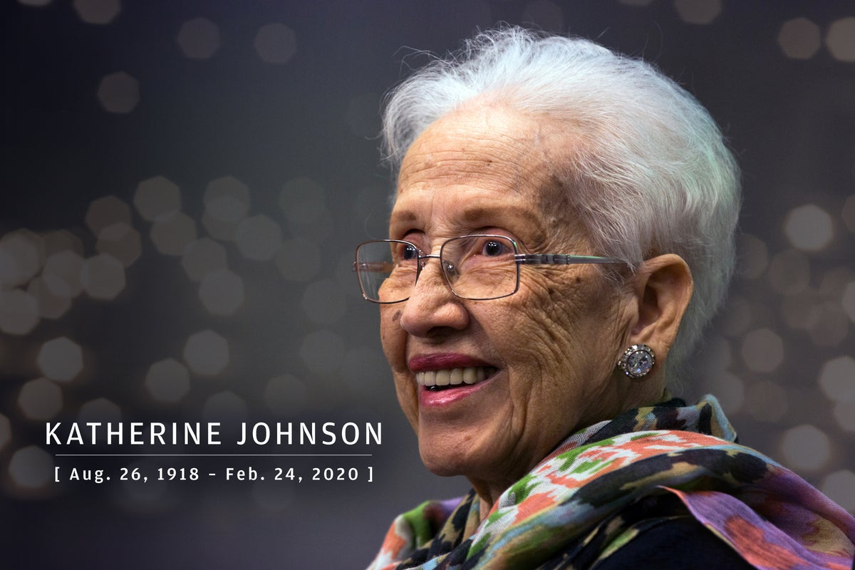 CW  >  In Memoriam 2020  >  Katherine Johnson (Aug. 26, 1918 – Feb. 24, 2020)