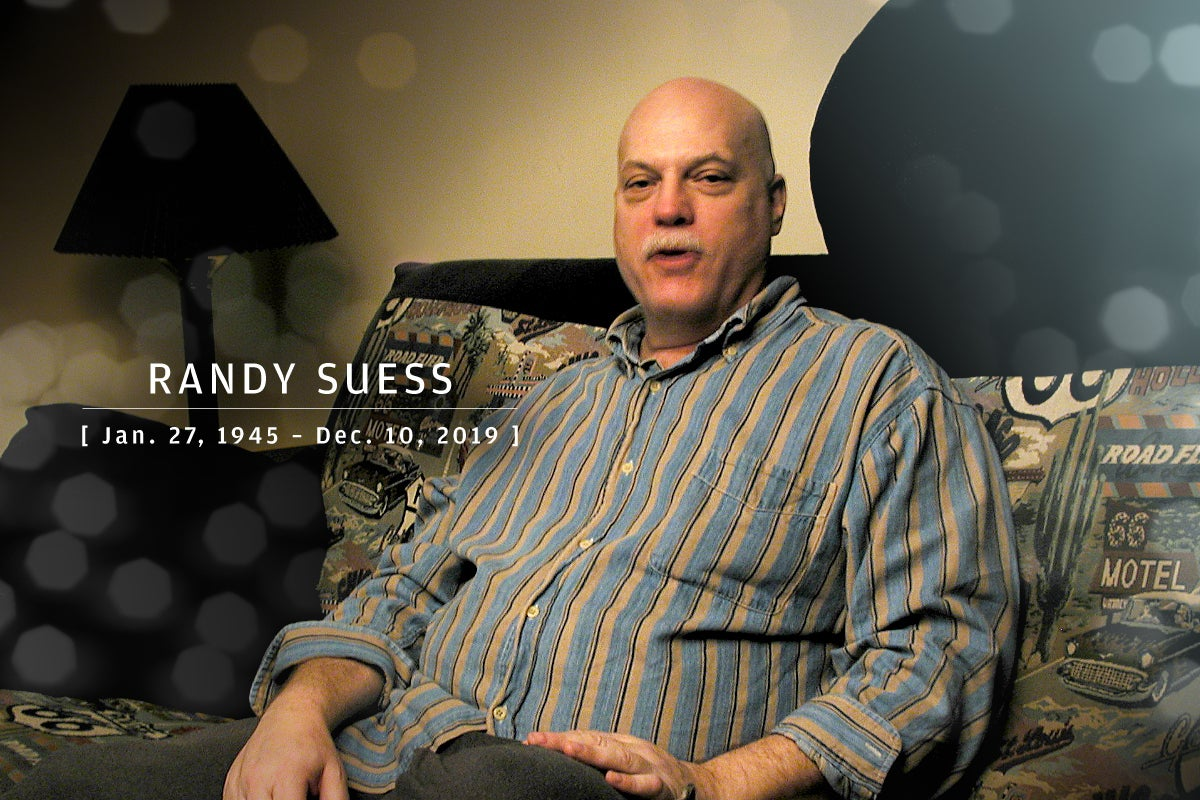 CW  >  In Memoriam 2020  >  Randy Suess (Jan. 27, 1945 – Dec. 10, 2019)