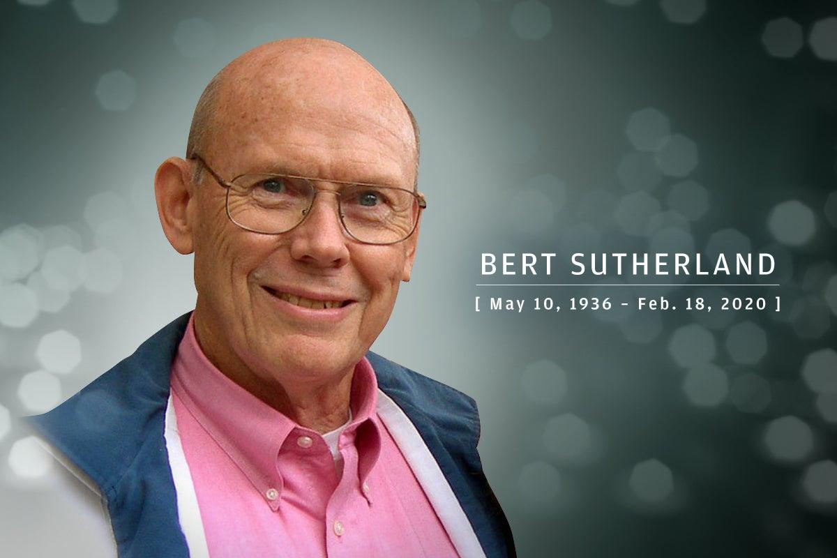CW  >  In Memoriam 2020  >  Bert Sutherland (May 10, 1936 – Feb. 18, 2020)