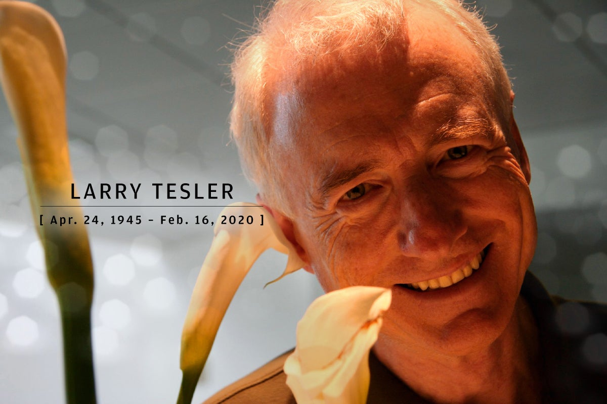 CW  >  In Memoriam 2020  >  Larry Tesler (Apr. 24, 1945 – Feb. 16, 2020)