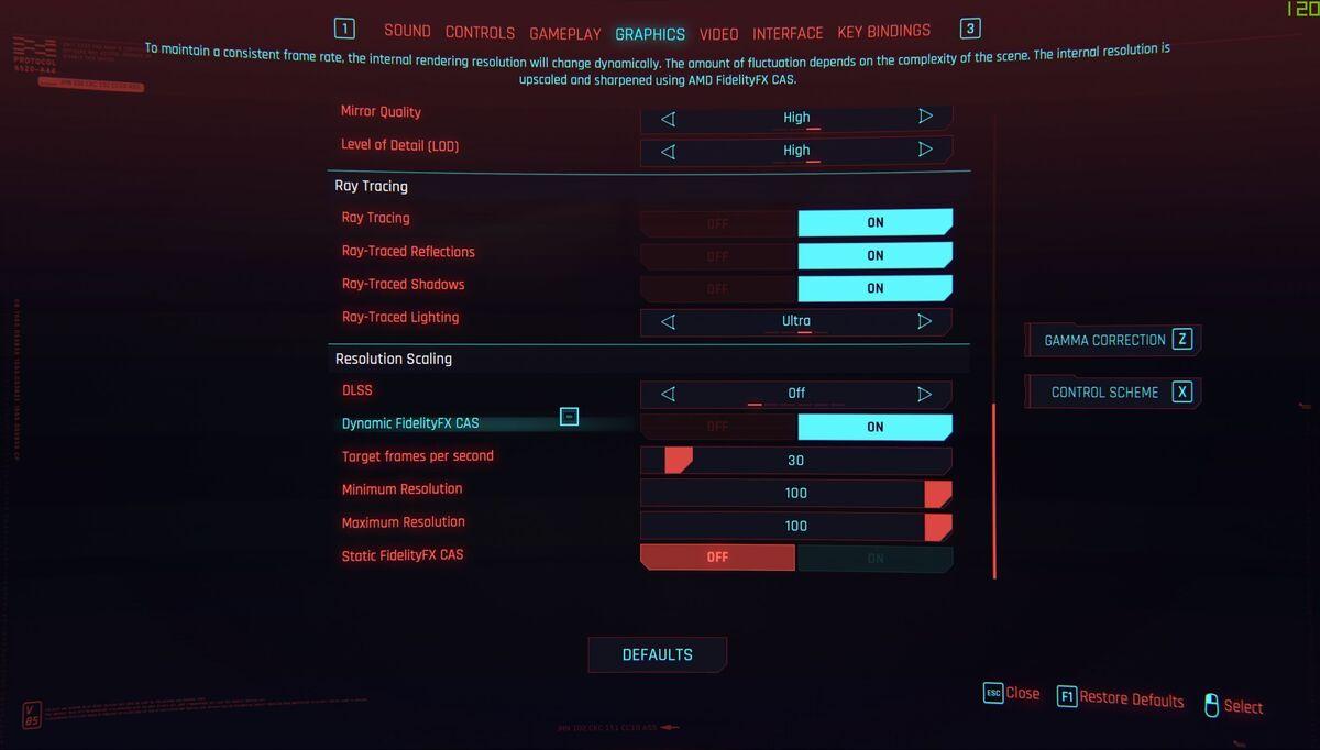cyberpunk cas dynamic