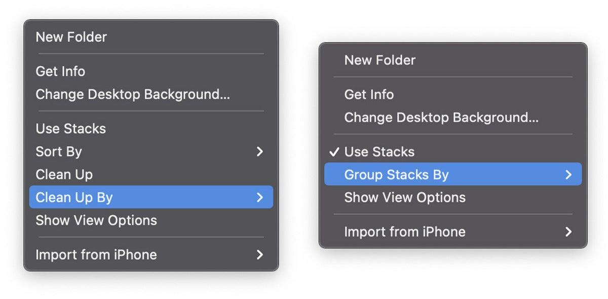 desktop cleanup mac