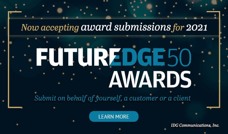 2021 FutureEdge50 awards