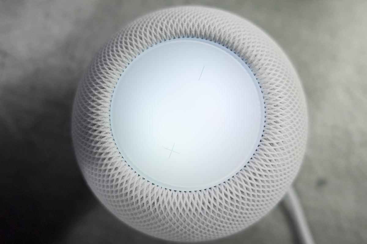 homepod mini screen