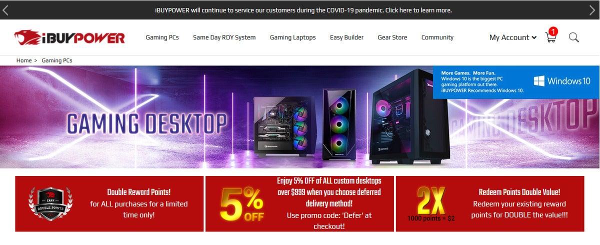 ibp1 100869424 large - Best prebuilt gaming PCs: Get Ryzen 5000, RTX 3080, and Radeon 6800 now