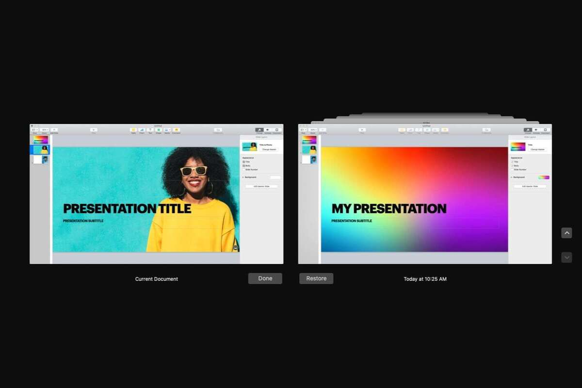How to restore a previous version of your Pages, Keynote, and other documents in macOS thumbnail