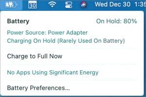 mac911 big sur battery dropdown