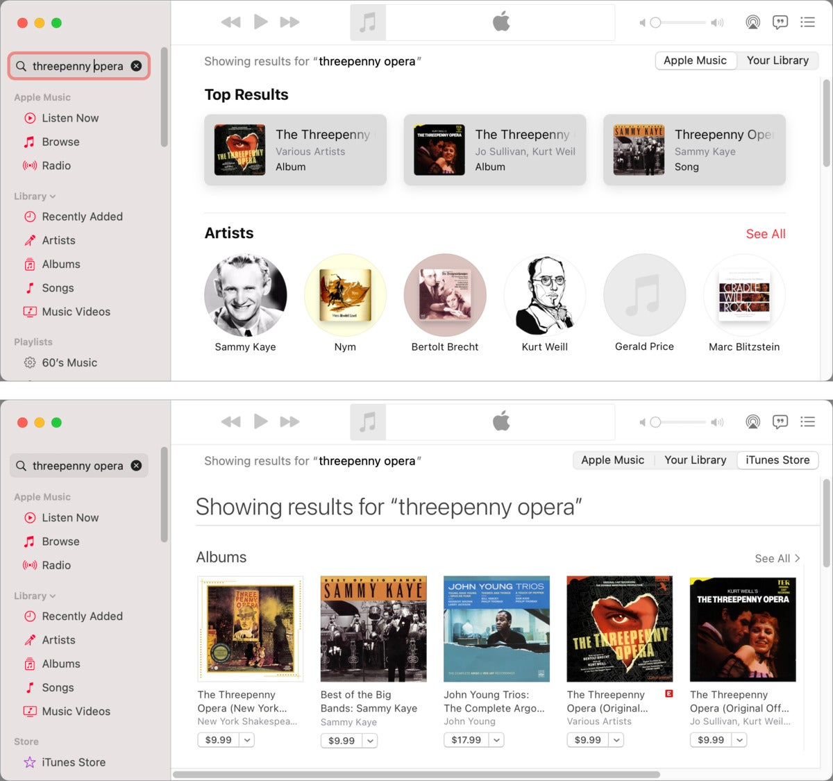 فروشگاه موسیقی mac911 itunes خرید نمایش