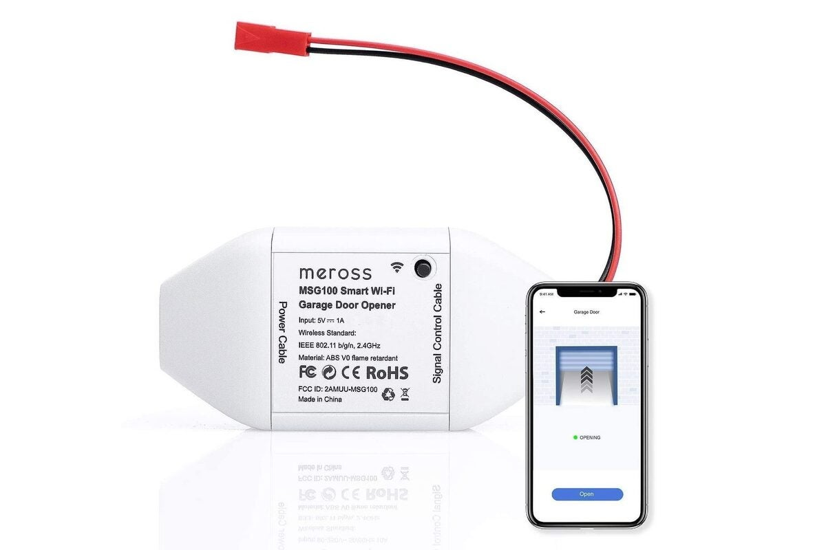 Meross Smart Wi-Fi Garage Door Opener review: A budget price makes this  system worth the setup hassles   TechHive