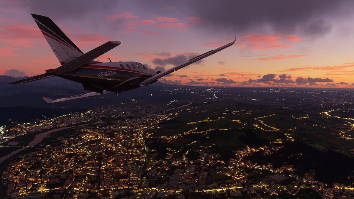 microsoft flight sim